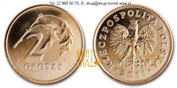Warszawa – 2 gr 2001 r. dwa grosze